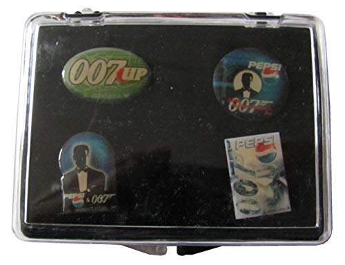 Pepsi Cola - 4er Pin Set - James Bond 007