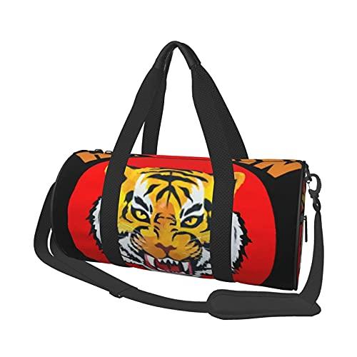 Bolsa de deporte Hanshin Tigers bolsa de gimnasio para hombres y mujeres bolsa de viaje grande duradera bolsa de hombro Weekender
