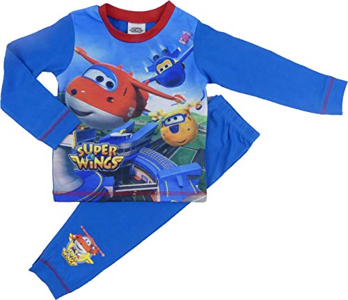 Schlafanzug für Jungen, Motiv: Thomas Hey Duggee, 18 - 24 Monate bis zu 4 - 5 Jahre Gr. 18-24 Monate, Super Wings