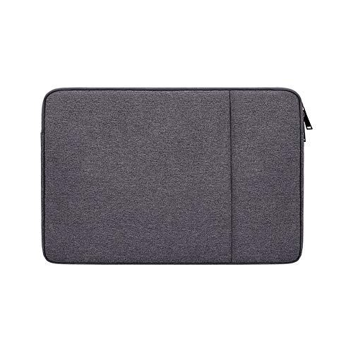 PINHEN 13-13.3 Inch Laptop Sleeve Bag Compatible with Surface Laptop 3 2019, MacBook Pro Touch Bar 13 Inch, Lenovo Yoga 730/72, Acer, ASUS, 13 inch Chromebook Laptop Waterpoof Bag,Dark Gray