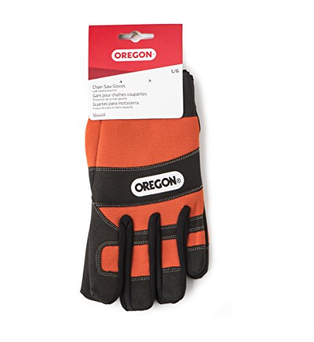 Oregon 564449 Safety Protective Chainsaw Gloves