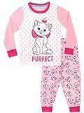 Disney Pijamas de Manga Larga para niñas Aristocats Rosa 9-10 Años