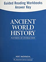Ancient World History: Patterns of Interaction: Guided Reading and Spanish/English Guided Reading Workbooks Answer Key (Spanish Edition) by HOLT MCDOUGAL (2011-01-05) Paperback