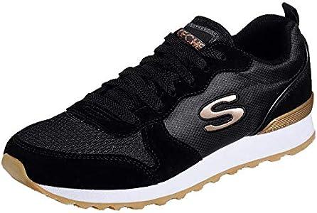 Skechers OG 85-Goldn Gurl - Zapatillas deportivas, color Negro, talla 40 EU