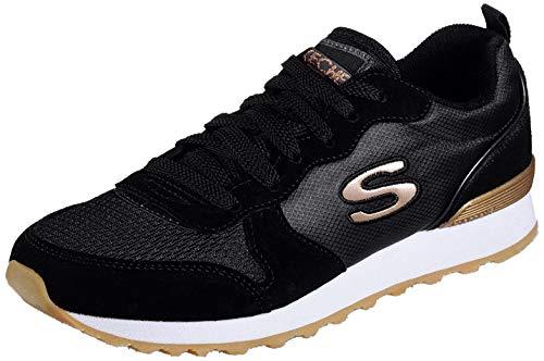 Skechers OG 85-Goldn Gurl - Zapatillas deportivas, color Negro, talla 36 EU