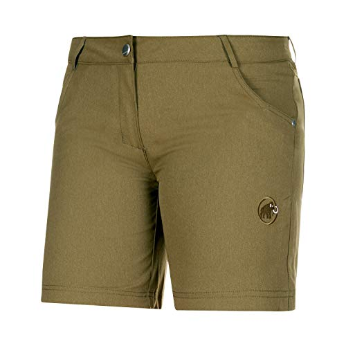 Mammut Damen Massone 1023 Shorts, Olive Melange, 38 EU