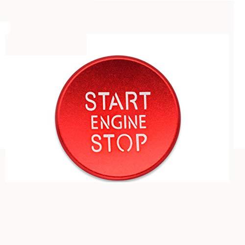 MYlnb Car Styling Sticker Ring Auto Engine Start Stop Button Cover Case, para Audi a4 b8 b9 a6 4f c7 q3 q5 s3 a3 8v 8p 8l