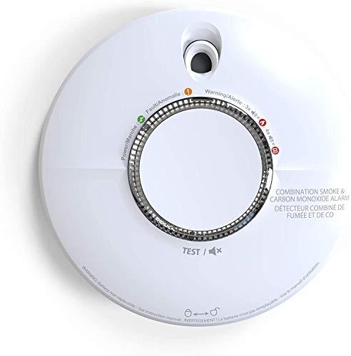 Fire Angel SCB10 - Detector de Humo y monóxido de Carbono