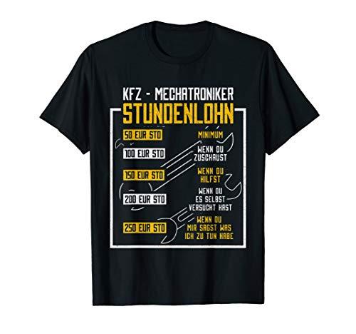 Herren Kfz-Mechaniker Sprüche T-Shirt von Mechanic-Tee