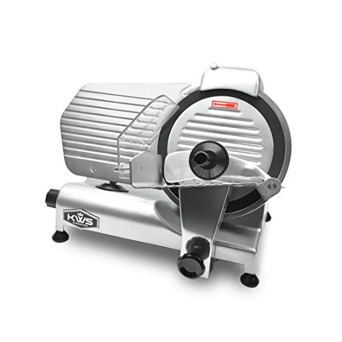 KWS MS-10NT Premium Commercial 320W Electric Meat Slicer...