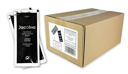 Jacoliva - Monodosis Aceite de Oliva Virgen Extra - 300 Unidades de 10 ml - Blend de Aceitunas - Predomina Manzanilla Cacereña - Aceite de Oliva de Gran Calidad - Elaborado en Extremadura