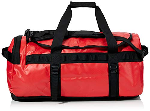 The North Face Base Camp Duffel, Sacs de sport grand format Mixte, Multicolore (Tnf Red/Tnf Black), 71 L, M