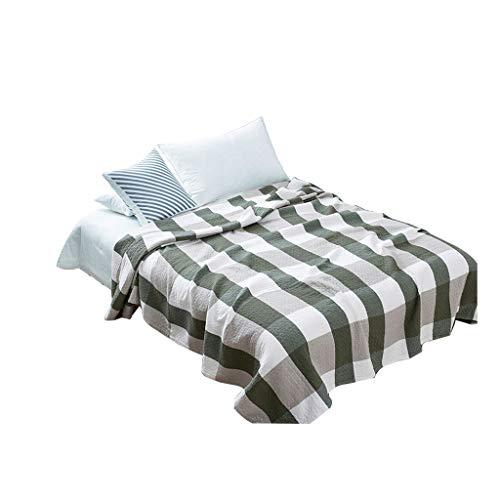 HSWYJJPFB Blanket Manta Suave Algodón Gasa Adulto Sudoración Manta De La Siesta, 200 Cm X 220 Cm