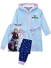 Disney Pijamas para Niñas Frozen Azul 7-8 Años