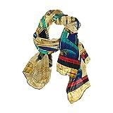 CPYang Bufanda de pergamino egipcio antiguo para mujer, larga y suave, de gasa para el cuello, bufandas para mujeres y niñas