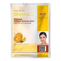シートマスク ビタミン 100枚セット ダーマル(Dermal) フェイス パック