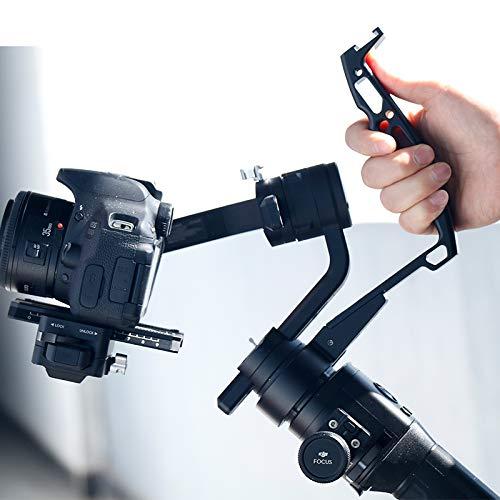 Zhiyun Gimbal Accessories- Soporte de Brazo de extensión de Montaje de Anillo de Agarre de manija Invertida de Metal Compatible con Zhiyun Crane 2 Crane Plus/M Feiyu AK2000 Stabilizer