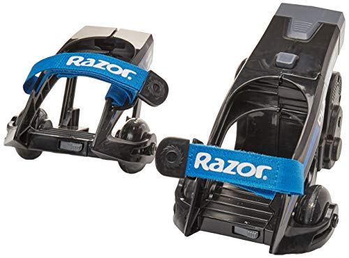 Razor Turbo Jetts Electric Heel Wheels - DLX Blue
