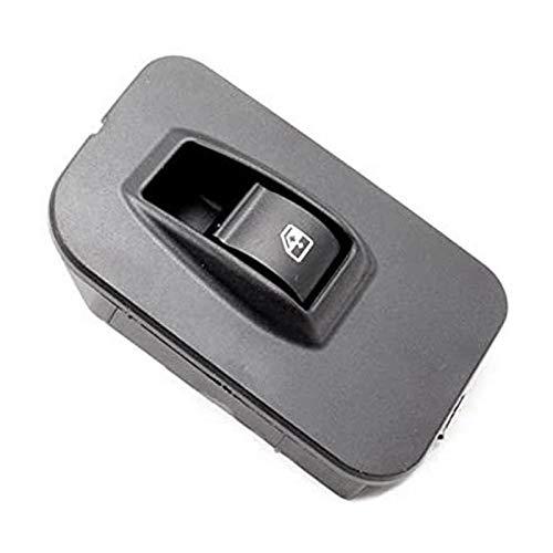 Ymhan Control de la Ventana de energía del Interruptor de Cristal de Auto Lifter Solo Interruptor de Montaje for Peugeot Citroen 6490.H0 (Color : Black)