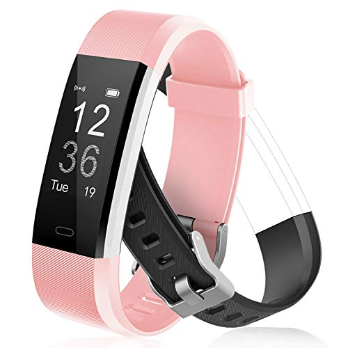 Letsfit Fitness Tracker with Heart Rate Monitor, IP67 Water Resistant Activity Tracker Watch, Smart Watch with Calorie Counter, Pedometer Watch for Kids Women and Men