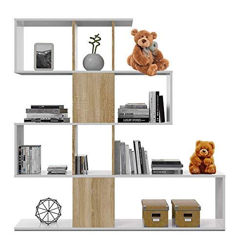 HABITMOBEL Estantería librería Infantil, Comedor, Salon o Oficina, diemensiones: 145 x 145...