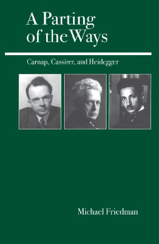 A Parting of the Ways: Carnap, Cassirer, and Heidegger (English Edition)