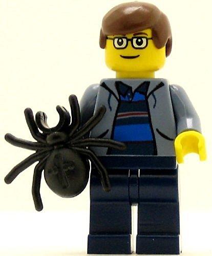 LEGO Spider-Man Minifig Peter Parker Sand Blue Jacket by LEGO