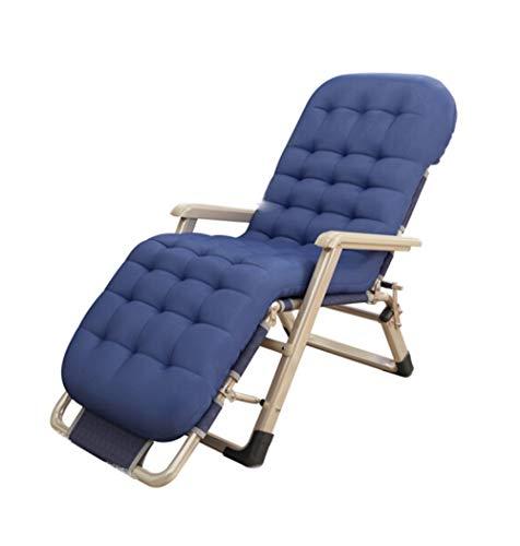 YYH Cian Cama Plegable reclinable Lazy Sofa Dormitorio Dormitorio Oficina Cómoda Tatami Nap Bed 178 × 52cm Cómodo