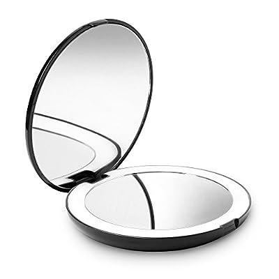Fancii Tragbarer Taschenspiegel Zweiseitiger
