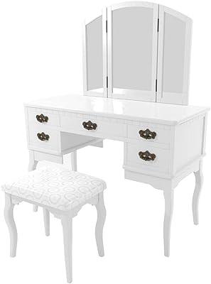 Astounding Amazon Com Bobkona F4074 St Croix Collection Vanity Set Spiritservingveterans Wood Chair Design Ideas Spiritservingveteransorg
