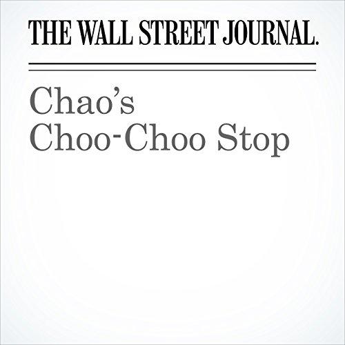 Chao's Choo-Choo Stop copertina