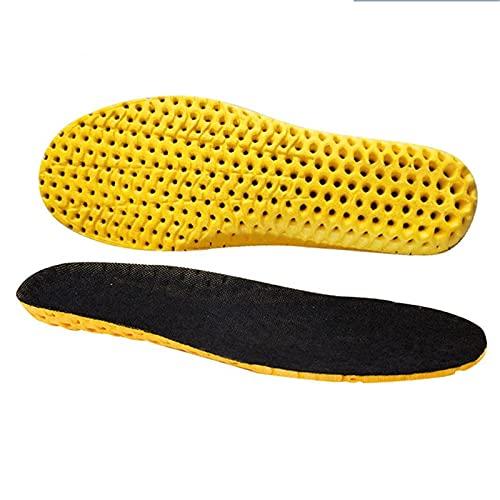 ZHANGMIN Cojín de Zapatos para Hombres y Mujeres Espuma de Memoria Plantillas para Zapatos Sole Malla Desodorante Cojín Transpirable Cojín Posoles para pies Hombre Mujeres Posoles ortopédicos 210818