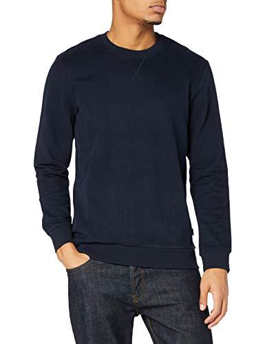 edc by ESPRIT Herren 990CC2J301 Sweatshirt, 400/NAVY, M