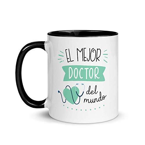 Kembilove Taza de Desayuno del Mejor Doctor del Mundo – Tazas de Café de Profesiones y...