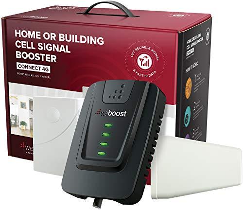 weBoost Connect 4G (470103) Indoor Cell Phone Signal Booster for Home and Office - Verizon, AT&T,...