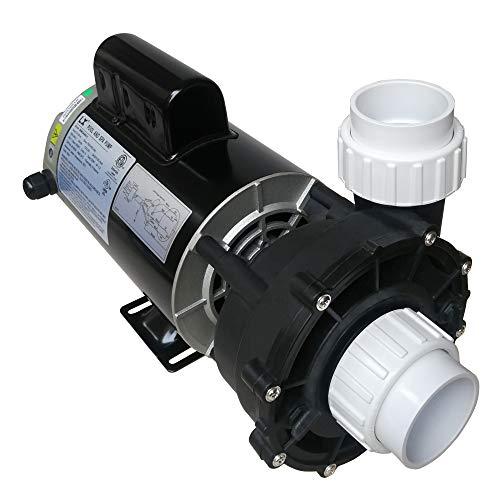 KL KEY LANDER Hot Tub Spa Pump, 4HP, Two Speed, 56Frame LX Motor (220-240V/60Hz); 2'...