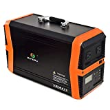 SUNGZU 1000 Watt Portable Power Station Solar...