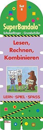 SuperBandolo (Spiele), Set.8, Lesen, Rechnen, Kombinieren (Spiel) (Edition Bücherbär)