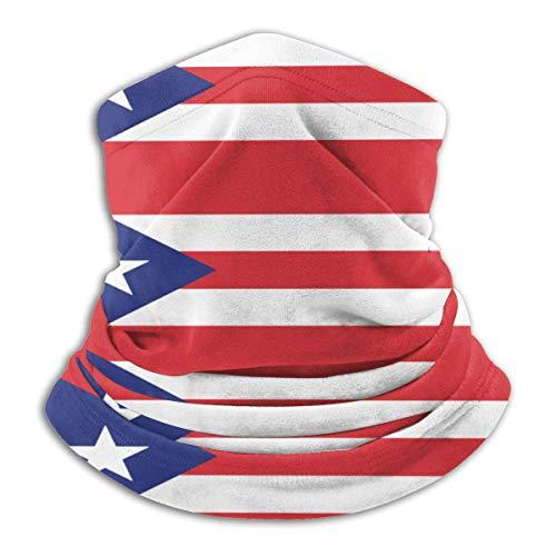 Randy-Shop Gamtassen voor de hals, fleece, vlag Puerto Rico Unisex
