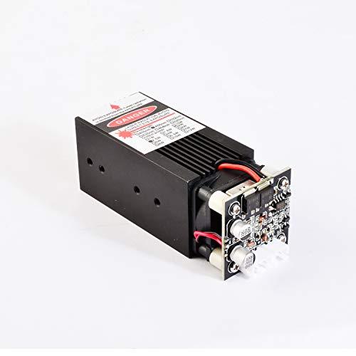 Blue Laser Module 450nm 4W Focusable for 3D Printer/CNC Engraving/Laser Engraving (4W)
