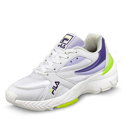 FILA 1010833 Hyperwalker Damen Sneaker aus Synthetik | Innensohle herausnehmbar, Groesse 36, weiß/lila