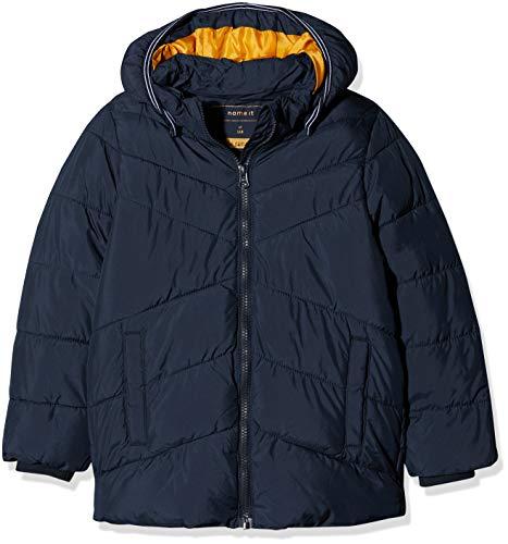 NAME IT Jungen NMMMIL Puffer Jacket Camp Jacke, Blau (Sky Captain Sky Captain), 104