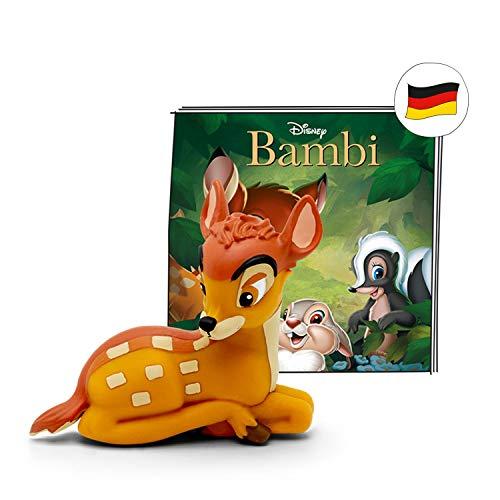 tonies Hörfiguren für Toniebox: Disney Hörspiel Bambi Figur - ca 50 Min. Spieldauer - ab 4 Jahre - DEUTSCH