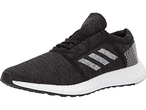 adidas Men's Pureboost GO Running Shoe, black/grey/grey, 10.5 M US