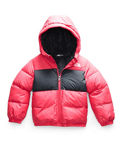 The North Face Toddler Moondoggy Hoodie, Paradise Pink, 2T