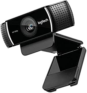 Logitech Webcam C922 Full HD 1080p Pro Steam, Black