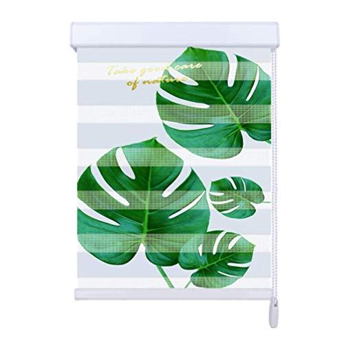 YLCCC Zebra Doppel Rolläden, Tag und Nacht Rolläden Fenster drapiert Sheer Privacy Light Control Blatt Patterned Sonnenschutz- für Home Office-Fenster