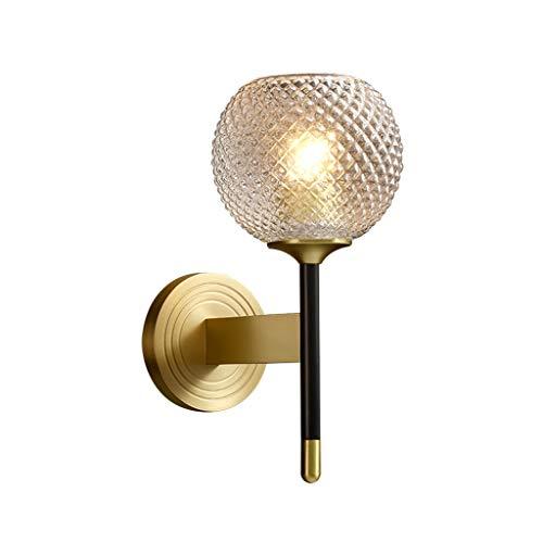Lámparas de Pared Lámpara de pared lujo luz pared de cobre lámpara de cabecera del dormitorio de la lámpara de pared cubierta de la lámpara de pared de fondo del comedor sala de estar de la lámpara De