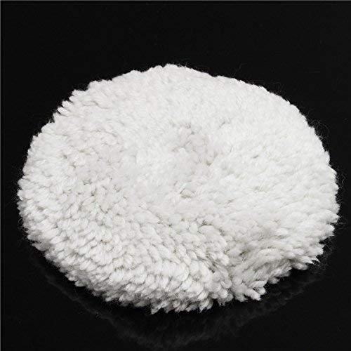 Geen logo CKQ-KQ 125mm 5 Inch Wool Polijsten Buffing Pad Polijstmachine