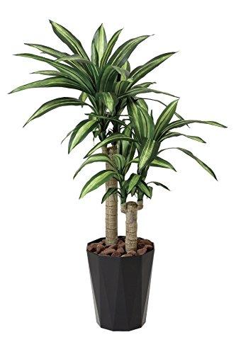 光触媒 人工観葉植物 光の楽園 幸福の木1.1m 406A180